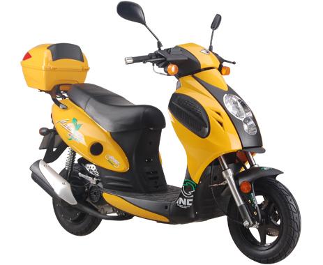 供应新陵小帅哥 油电混合动力摩托车 踏板两轮摩托车